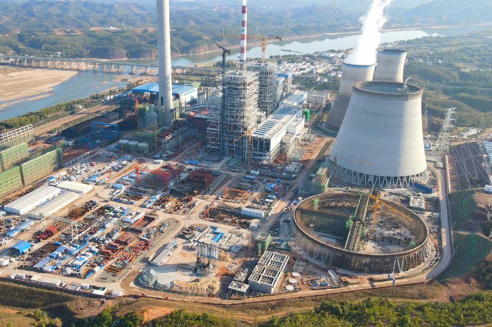 江西瑞金电厂二期项目吹响复工复产集结号