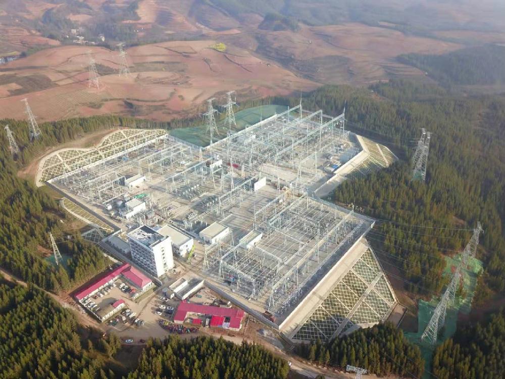 中国能建云南院设计500千伏明通输变电工程投运