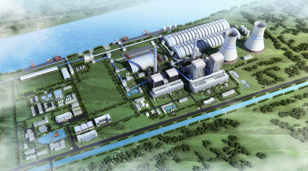 中国能建所属企业中标江苏射阳港2×100万千瓦燃煤发电项目扩建工程