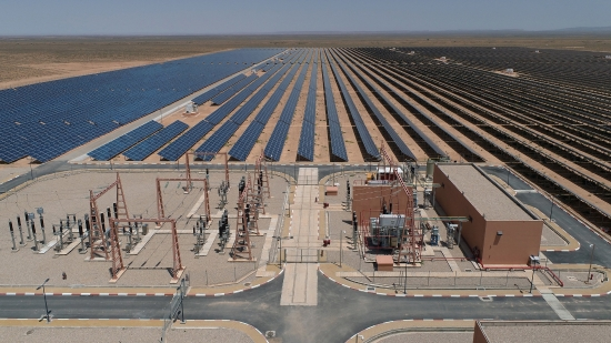 摩洛哥努尔·塔菲拉特120兆瓦太阳能电站项目获得完工证明